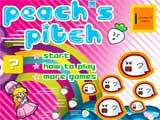 Peach s Pitch  - Juegos de Mario Bros