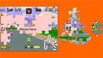 Juegos de Mario: Mario Kart Puzzle  - Juegos de Mario Bros