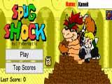 Juegos de Mario Bros: Spug Shock  - Juegos de Mario Bros