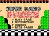 Juego de mario Bros: Super Mario Bounce  - Juegos de Mario Bros