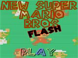 New Super Mario Bross Flash  - juegos de mario
