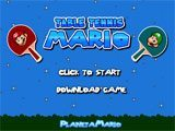 Table Tennis Mario  -