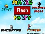 Mario Flash Party  - Juegos de Mario Bros