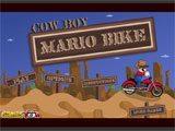 Cowboy Mario Bike - Juegos de Mario