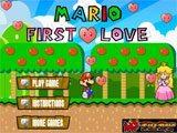 Juegos de Mario Bros: Mario first Love  - Juegos de Mario Bros