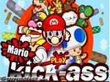 Juegos de Mario Bros: Mario Kick Ass  - Juegos de Mario Bros