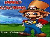 Mario Coloring - Juegos de Mario