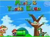 Juegos de Mario Bros: Mario and Yoshi eggs  - Juegos de Mario Bros