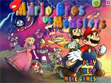 Juegos de Mario bros: Mario Bros VS Monsters