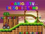 Juegos de Mario Bros: Mario ATV in Sonic Land