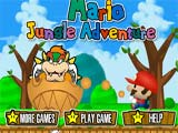 Juegos de Mario Bros: Mario Jungle Adventure  -